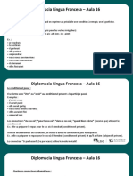 Língua Francesa - Aula 16