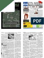 "Kuta Weekly-Edition 199 ""Bali""s Premier Weekly Newspaper"""