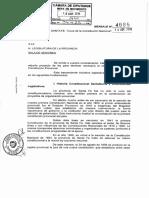 Proyecto de Reforma Constitucional