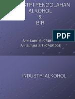 Pengolahan Alkohol & Bir