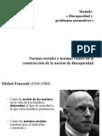 Normas Vitales y Normas Sociales - Cnaguilhem. PPT Andrea Benvenuto