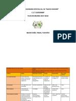 Plan de Mejora 2017-2018