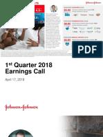 JNJ Earnings Presentation 1Q2018
