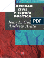 Cohen-Arato So. Civil y T. Política (CC)