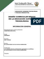 Plan Curricular Construcción Civil