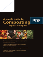 A Simple Guide to Composting in your Backyard