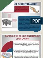 CAPITULO X Contrato Social
