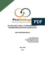Guia Diálogo y Transformación Conflictos