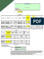 Costos y Rendimientos Por Metro Cuadrado y Litros, TAPIA Hempel