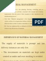 Material Mgt
