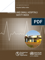 PAHO - Medium and Small Hospitals - Safety Index