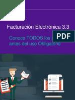 Factura Electronica Cambios 2017