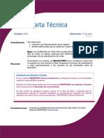 Carta Tecnica Factura Electronica 500