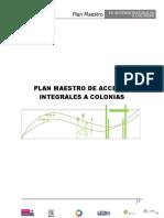 Plan Maestro Accesos Integrales a Colonias_2010