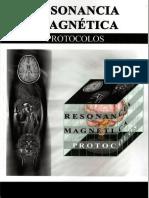 RESONANCIA MAGNETICA PROTOCOLOS