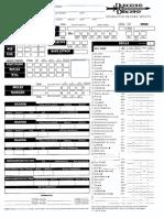 Character Sheet - Ranger v3