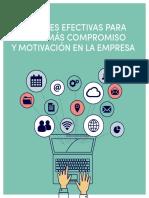 Talentier - 8 Acciones Efectivas Para Lograr Ms Compromiso y Motivacin en La Empresa