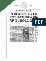 Principios de estratrigrafía arqueológica