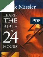 Bible in 24 Hours - Chuck Missler