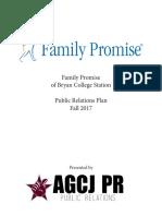 family promise pr plan