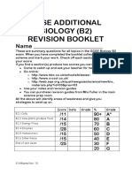 AQA B2 Revision Booklet
