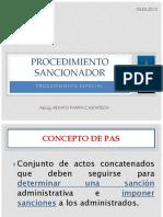 PROCEDIMIENTO SANCIONADOR -27444