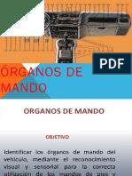 Mandos Manuales/Tablero de Instrumentos
