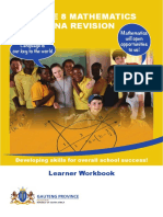 Grade 8 ANA Revision Maths Learner Workbook