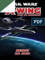 Jogo de Miniaturas StarWars X Wing Regras