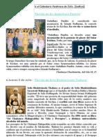 VAISNAVA  CALENDARIO DE JULIO