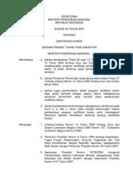 PERMEN DIKNAS 42 - 2007 ttg SERTIFIKASI DOSEN.pdf