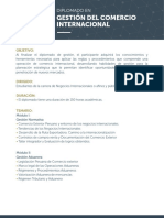 Temario Dip Gestion Del Comercio Internacional 150h 2016