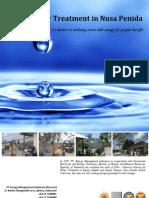 Solar Water Treatment in Nusa Penida