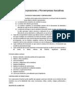 Requisitos fundación Ecuador