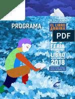Programa de actividades de la Feria Internacional del Libro Santo Domingo (#FILSD2018)
