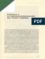 La Globalización y Derecho Capitulo 3
