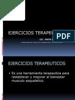 EJERCICIO TERAPEUTICOS 20155