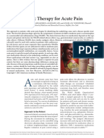 Pharmacologic Therapy for Acute Pain