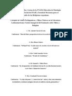 Coloquio 23 de Marzo Facultad de Filosofía y Letras de La UNAM