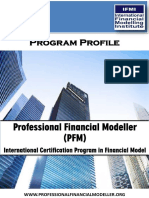 PFM Program Profile International Program