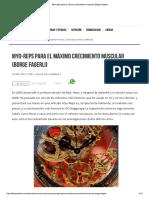 Myo-reps Para El Máximo Crecimiento Muscular Borge Fagerli