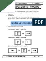 1.- 3 Primaria - Seleccionar Texto