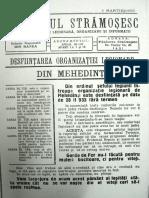 Pamantul Stramosesc anul V, nr. 3, 1 martie 1933