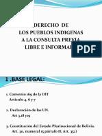 Derecho a La Consulta Previa en Bolivia