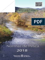 Folleto de Normativa Pesca Navarra 2018
