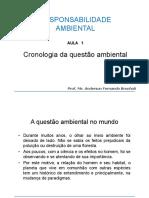 Aula 01 Cronologia Das Questoes Ambientais