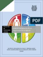 Mapas conceptuales de temas introductorios a la Psicología de la Salud.