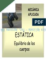 PPT - Estatica Cuerpo Rigido