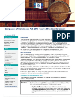 Firstnotes Companies Amendment