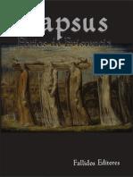 Lapsus. Ebrios de Existencia (2015) Fallidos Editores